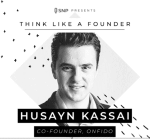 Podcast with Husayn Kassai, Co-Founder of Onfido